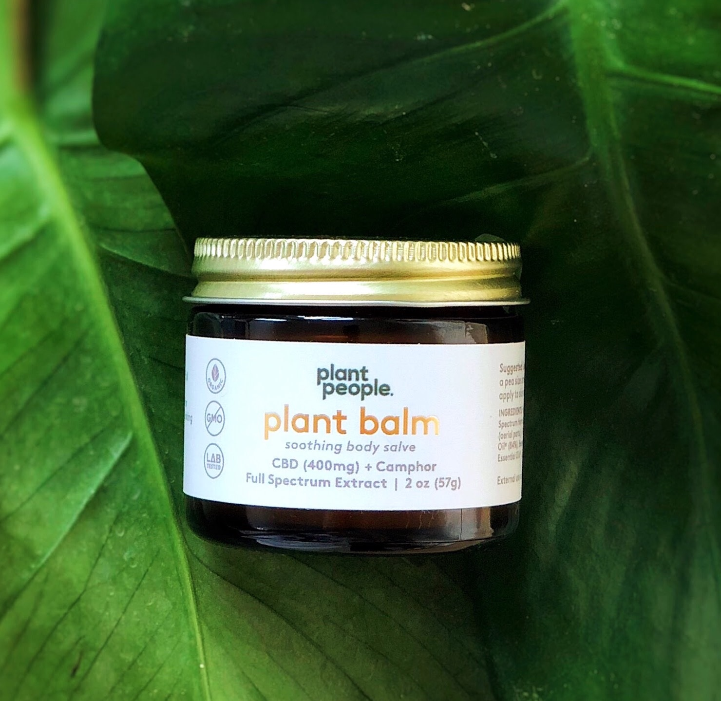 CBD Balm- plant people