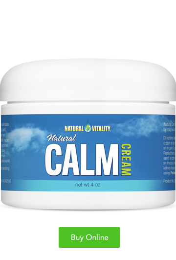 Natural Calm Cream 4oz