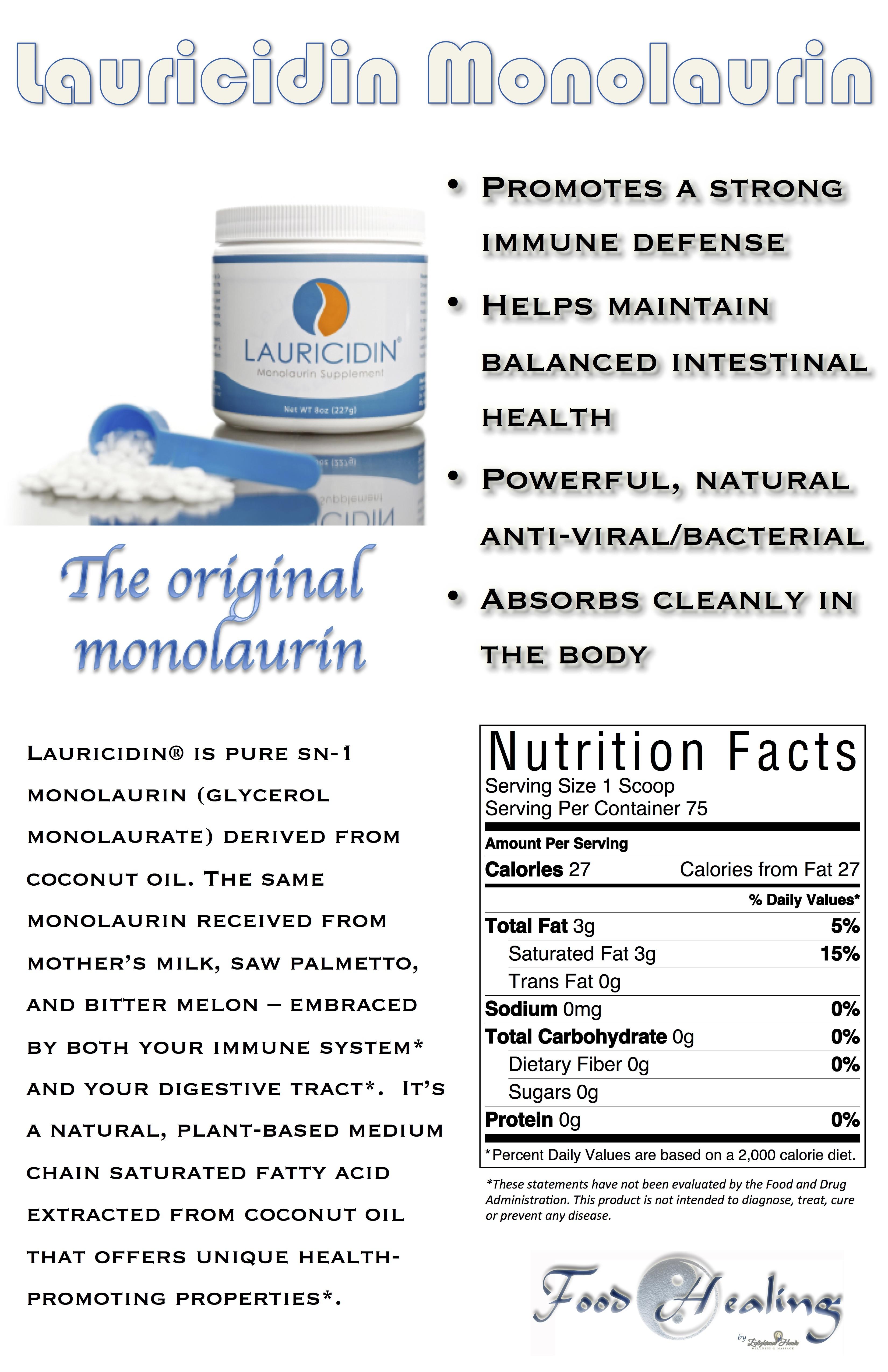 Lauricidin Monolaurin