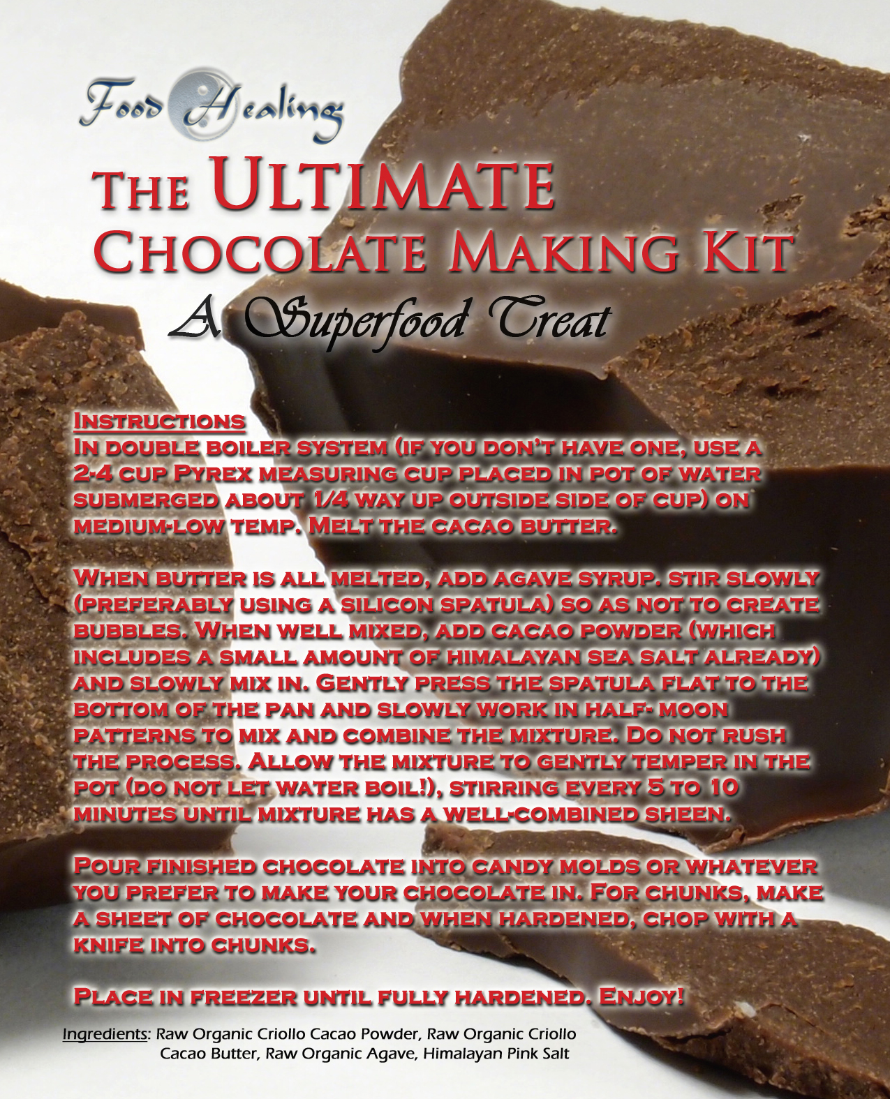 The Unofficial Official Chocolate Kit!