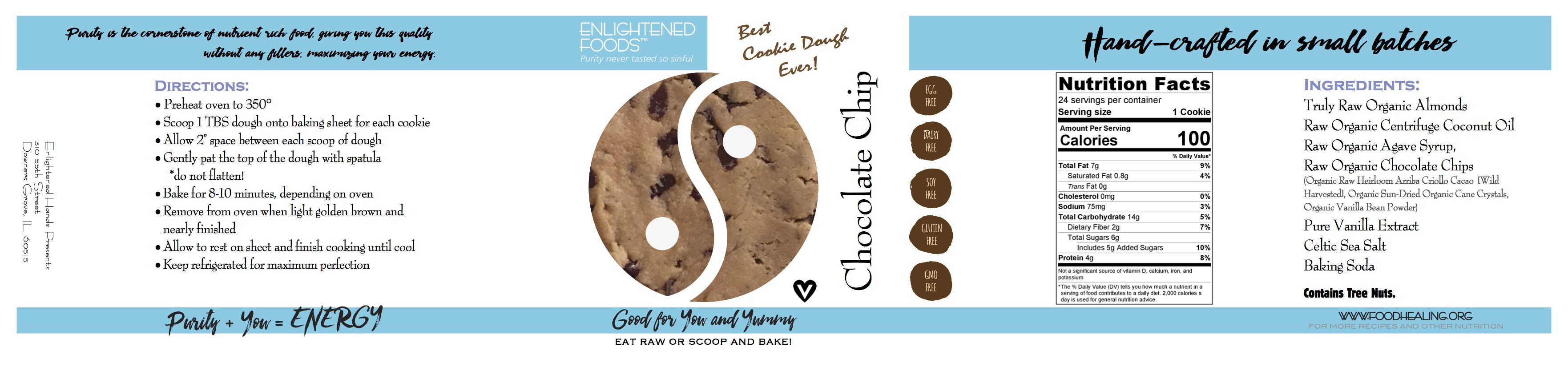 Vegan (Best) Chocolate Chip Cookie Dough (Ever)