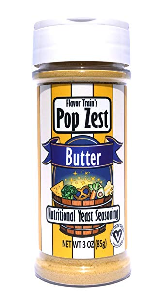Pop Zest Butter Superfood Topping - Tree Nut Free