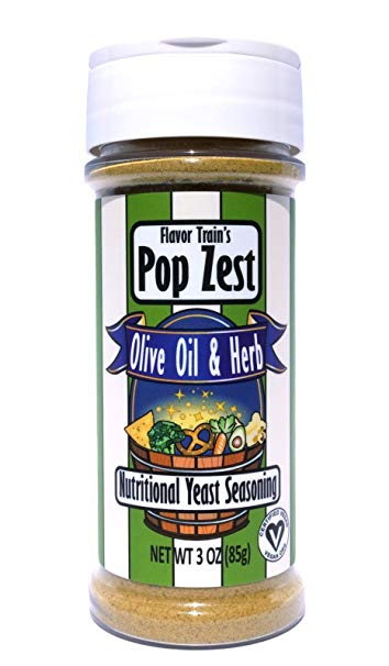 Pop Zest Olive Oil & Herb Superfood Topping - Tree Nut Free