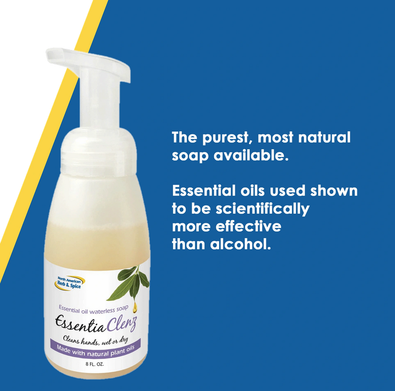 Essential Cleanz Waterless Plant Based Hand Soap