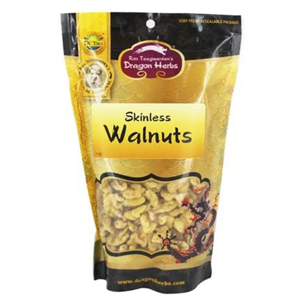 Skinless Walnuts, Organic (checkout our bulk nuts for new packaging and weight options)