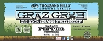 Graz Grub Beef Bar Pepper, 100% Grass Fed Beef 1oz