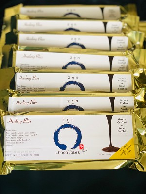 Zen Chocolate Bars by FoodHealing.org