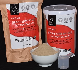 Vegan Performance Power Blend by FoodHealing.org