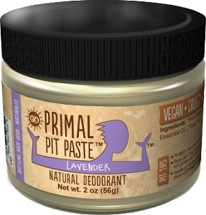 Primal Pit Paste, Lavender, Regular Strength